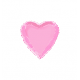 """3 Pack of Pastel Pink 18""""/45 cm Heart Balloons"""
