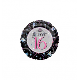 Sweet 16 Birthday Balloon (3 pack)