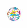 Happy Anniversary Foil Balloons (2 pack)