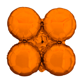 Orange Arch/Column Quad Cluster (Large - 10 pack)