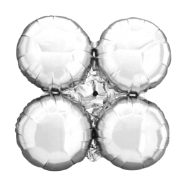 Silver Arch/Column Quad Cluster (Large - 10 pack)