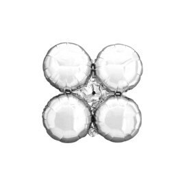 Silver Arch/Column Quad Cluster (Small - 10 pack)