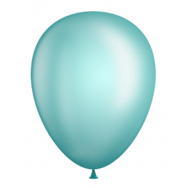"11"" Pearl Latex Balloons (Bags of 100) - Pearl Mint Green"