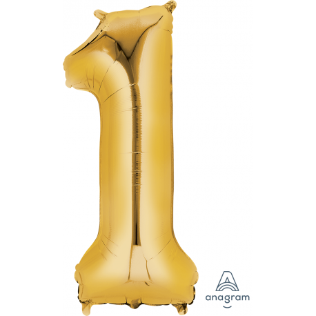 SuperShape Number One Balloon