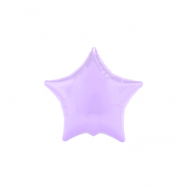 "3 Pack of Pastel Lilac 19""/48 cm Star Balloons"