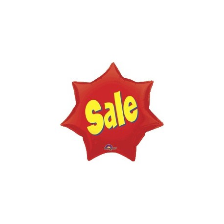 Sale Starburst Super Shape Balloon (2 pack)