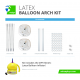 Latex Balloon Arch Frame Kit (Hardware Only)