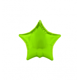 "3 Pack of Lime Green 19""/48 cm Star Balloons"