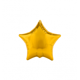 Metallic Gold Star (2 pack)
