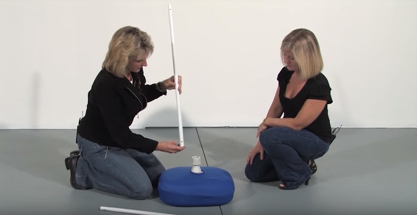 How to make a balloon arch - Step 2