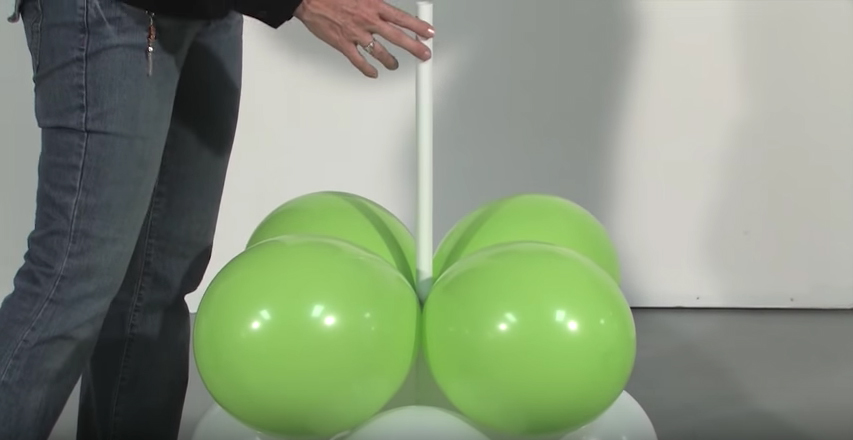 How to make a balloon arch - Step 6