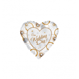 Wedding Heart Balloon (3 pack)