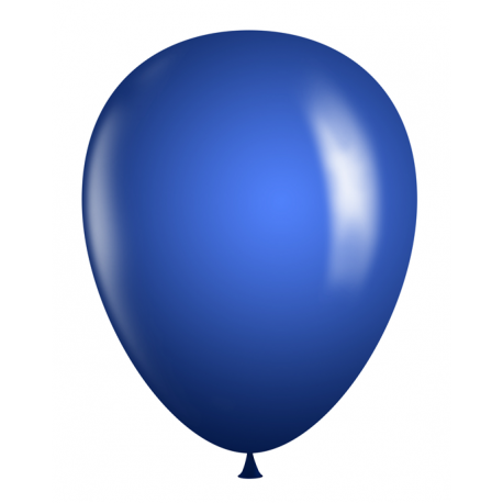 "11"" Latex Balloons - Dark Blue"