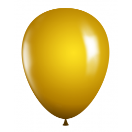 "11"" Latex Balloons - Gold"