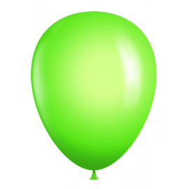 "11"" Neon Latex Balloons (Sold in Bags of 100) - Neon Green"