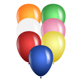 "Bag of 100 5"" Qualatex Balloons"