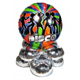 Disco Dancing Clippin' Easy Centerpiece