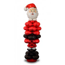 Santa Balloon Package Set for Column