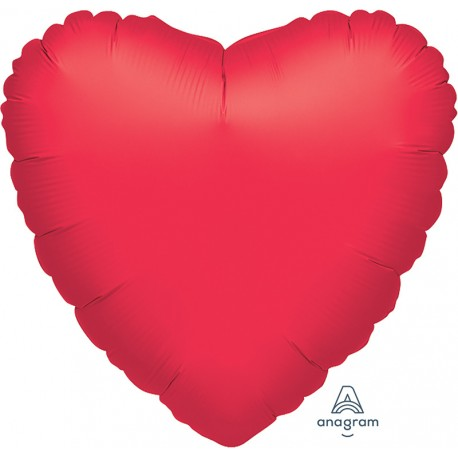 "3 pack of Jumbo 32"" Red Foil Heart Balloons"