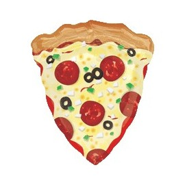 Pizza SuperShape Balloon (3 pack)