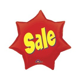 Sale Starburst Super Shape Balloon (3 pack)