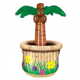 Palm Tree Inflatable Cooler