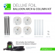 Deluxe Foil Arch & Column Kit (Includes Inflator)